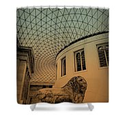 Lion On Guard Shower Curtain