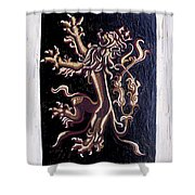Lion Rampant Shower Curtain