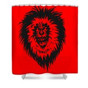 Lion Roar Shower Curtain
