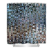 Lionfish Abstract Shower Curtain