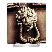 Lion's Den Shower Curtain