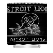 Lions Football Shower Curtain