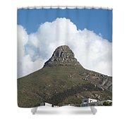 Lion's Head Cape Town Shower Curtain