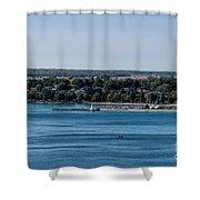 Lions Head Harbor, Ontario Shower Curtain