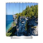 Lions Head Limestone Cliffs Shower Curtain