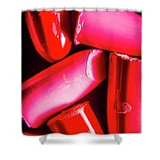 Lipgloss And Letdown Shower Curtain