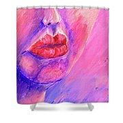 Lips Shower Curtain