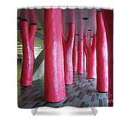 Lipstick Forest 2 Shower Curtain