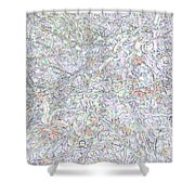 Liquid Biology Shower Curtain by Eikoni Images