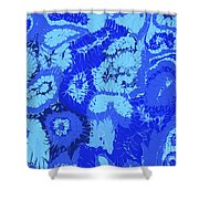 Liquid Blue Dream - V1cbs30 Shower Curtain