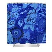 Liquid Blue Dream - V1lle30 Shower Curtain