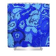Liquid Blue Dream - V1sl100 Shower Curtain
