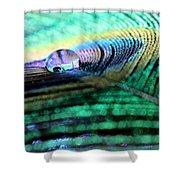 Liquid Color Shower Curtain