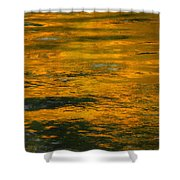 Liquid Fire Shower Curtain