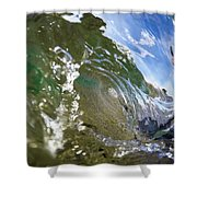 Liquid Glass Shower Curtain