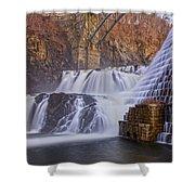 Liquid Power Shower Curtain