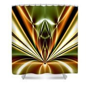 Liquid Reaction Shower Curtain