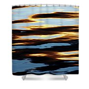 Liquid Setting Sun Shower Curtain