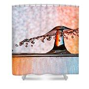 Liquid Umbrella Shower Curtain