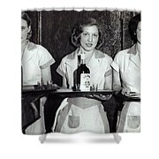 Liquor Is Served - Prohibition Ends 1933 Shower Curtain