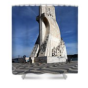 Lisbon 13 Shower Curtain