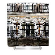 Lisbon 16 Shower Curtain