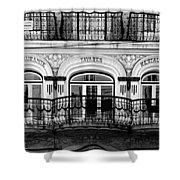 Lisbon 17b Shower Curtain