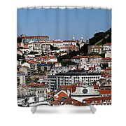 Lisbon 18 Shower Curtain