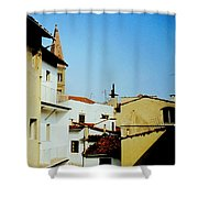 Lisbon Angles Shower Curtain