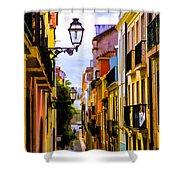 Lisbon Hills Shower Curtain