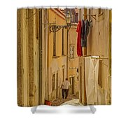 Lisbon Street # 1 Shower Curtain