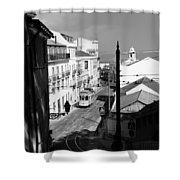 Lisbon Trolley 17b Shower Curtain