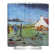 Lismore Island Shower Curtain