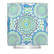 Listen And Take Action II Shower Curtain