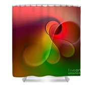 Listen To The Sound Of Colors -1- Shower Curtain by Issabild -