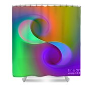 Listen To The Sound Of Colors -4- Shower Curtain