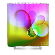 Listen To The Sound Of Colors -5- Shower Curtain