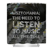 Lisztomania Shower Curtain