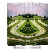 Lite Traffic Shower Curtain