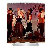 Lithuanian Folk Dance Shower Curtain