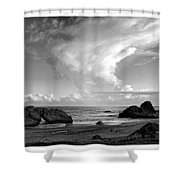 Litoral Central Shower Curtain