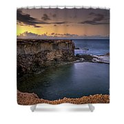 Little Bay North At 530 Shower Curtain