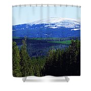 Little Belt Range Shower Curtain