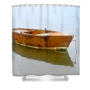Little Boat Shower Curtain
