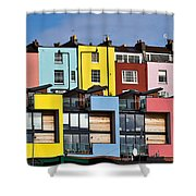 Little Boxes Shower Curtain