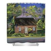 Little Brick House  Shower Curtain