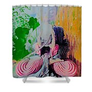 Little Buddha Shower Curtain