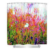Little Butterfly Fly Shower Curtain