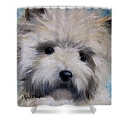 Little Cairn Shower Curtain