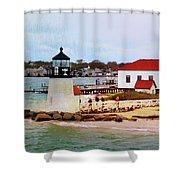 Little Cape Light Shower Curtain